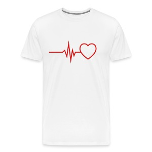 Dakota Heart beat - Men's Premium T-Shirt