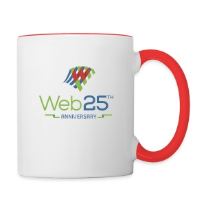 web25_mug - Contrast Coffee Mug