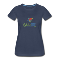 Women's T-Shirts ~ Women's Premium T-Shirt ~ web25_women_blue_shirt