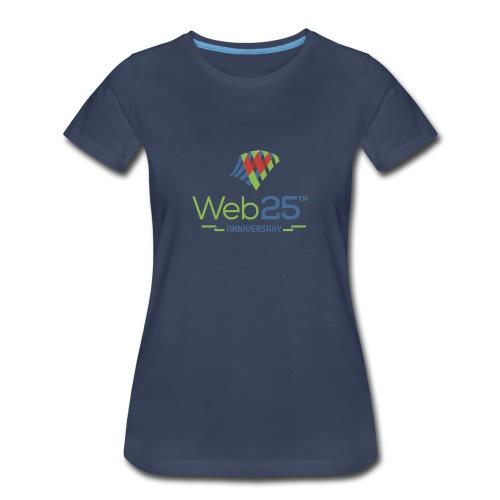 web25_women_blue_shirt - Women's Premium T-Shirt