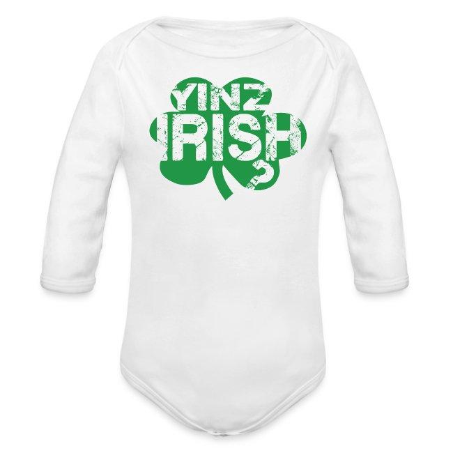Yinz Irish? Baby - Green Cutout