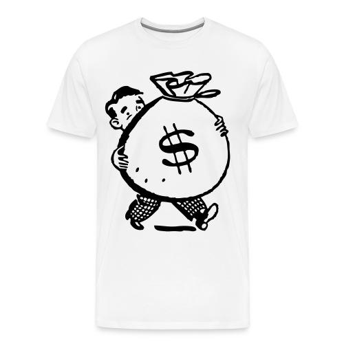 Money Bag Tee - Men's Premium T-Shirt