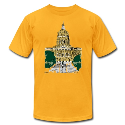 State Capitol - Men's Fine Jersey T-Shirt