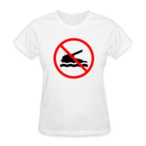 No Swimming (Women) - Women's T-Shirt