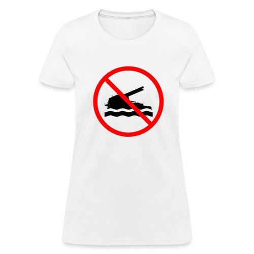 No Swimming (Women) - Women's T-Shirt
