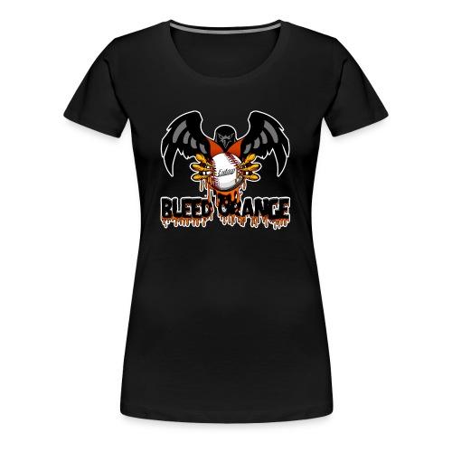Bleed Orange Front Only Women's - Women's Premium T-Shirt