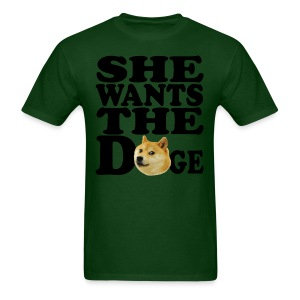 She wants the Doge - Men's T-Shirt