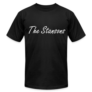The Stansons -             Men T-shirt Black - Men's Fine Jersey T-Shirt