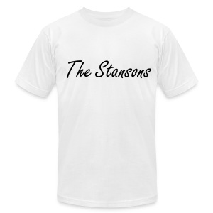 The Stansons -             Men T-shirt White - Men's Fine Jersey T-Shirt