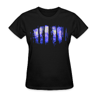 Women's T-Shirts ~ Women's T-Shirt ~ Dark forest