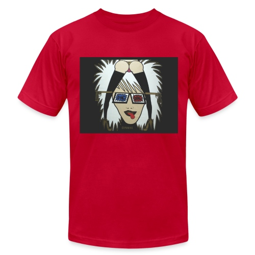 Russian Roulette - American Apparel - Men - Men's Fine Jersey T-Shirt
