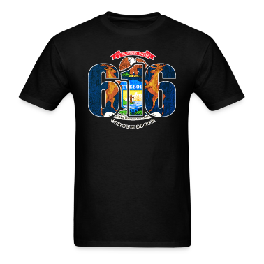 616 michigan area code flag clothing apparel t shirt for 6016 area code