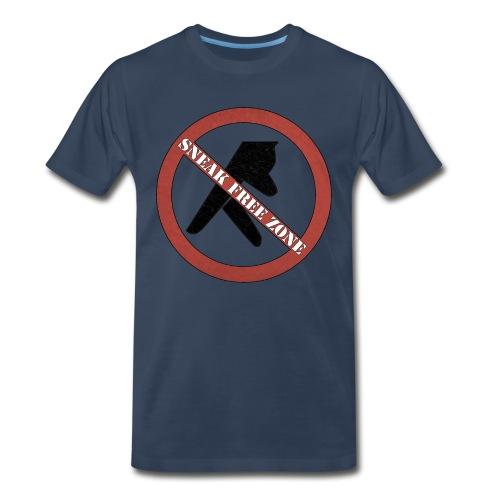 Sneak Free Zone  - Men's Premium T-Shirt