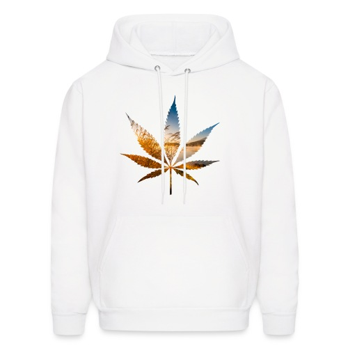 Sunrise Lake Leaf - Men's Hoodie