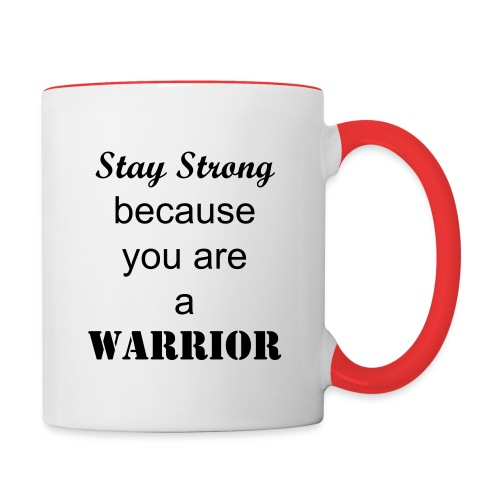 Stay Strong - Contrast Coffee Mug