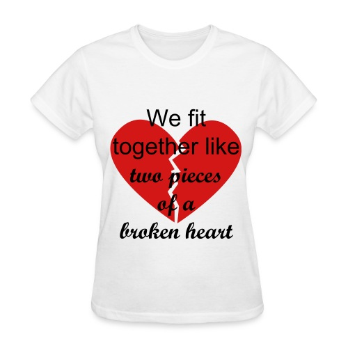 Two Pieces - Women's T-Shirt