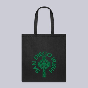 San Diegp Irish Celtic Cross  - Tote Bag