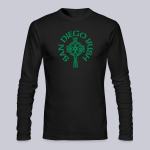 San Diego Irish Celtic Cross - Men's Long Sleeve T-Shirt by Next Level