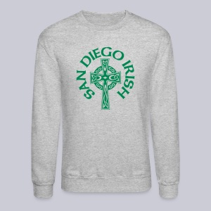 San Diego Irish Celtic Cross - Crewneck Sweatshirt