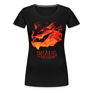 Smaug The Dragon - Women's Premium T-Shirt