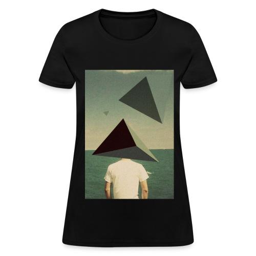 Triangles in the Sky Women's Shirt - Women's T-Shirt