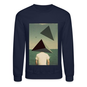 Triangles on the Beach - Crewneck Sweatshirt