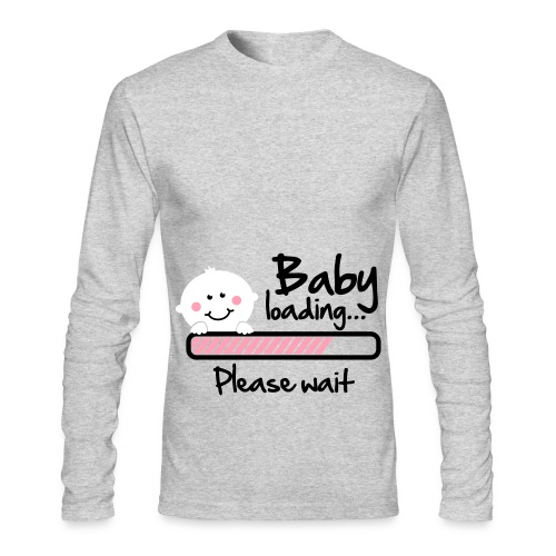 BABY LOADING - Men's Long Sleeve T-Shirt by Next Level