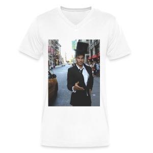 Welcome to ERMANSKILAND - V-Neck - Men - Men's V-Neck T-Shirt by Canvas