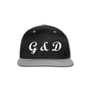 G&D Logo | Snapback | Male - Snap-back Baseball Cap