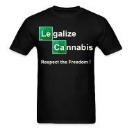 T-Shirts ~ Men's T-Shirt ~ Legalize Cannabis