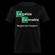 T-Shirts ~ Men's T-Shirt ~ Legalize Cannabis