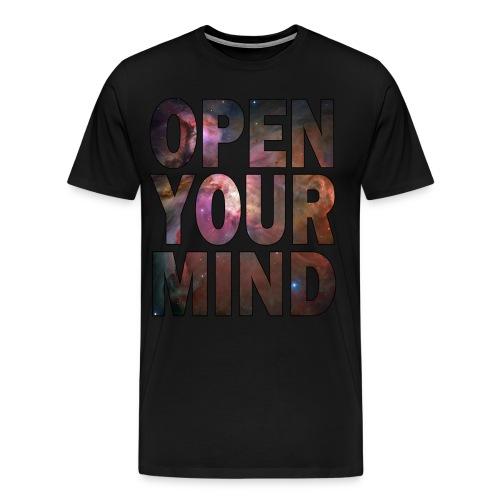 open your mind t shirt - Men's Premium T-Shirt