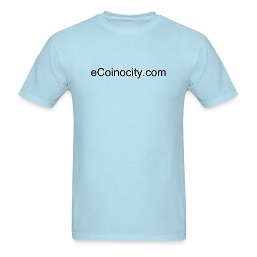 eCoinocity Light Blue T-Shirt - Men's T-Shirt