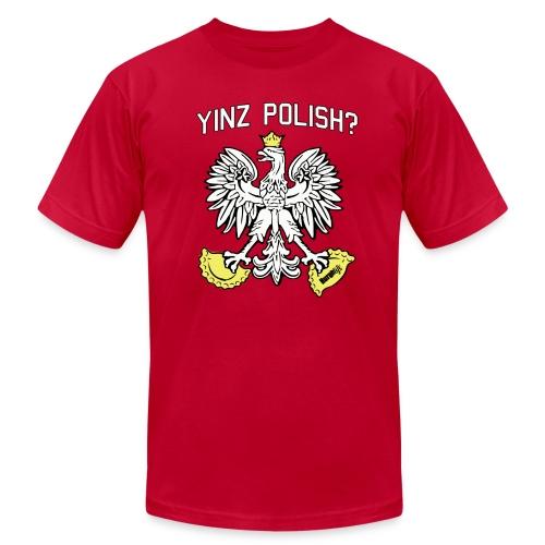 Yinz Polish  - Men's Fine Jersey T-Shirt