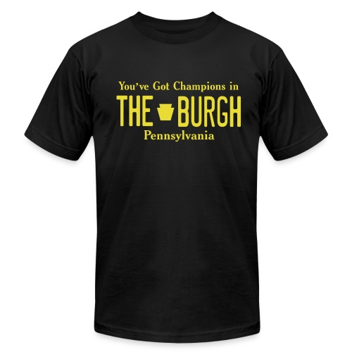 Champions  - Men's T-Shirt by American Apparel