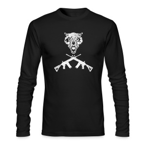 WWT Wolf Long Sleeve - Men's Long Sleeve T-Shirt by Next Level