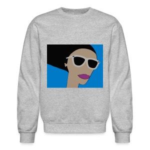 Girl in the Wind - Sweatshirt - Men - Crewneck Sweatshirt