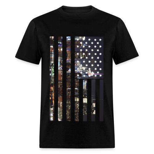 America / New York  - Men's T-Shirt