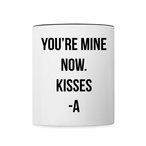 Kisses Mug - Contrast Coffee Mug