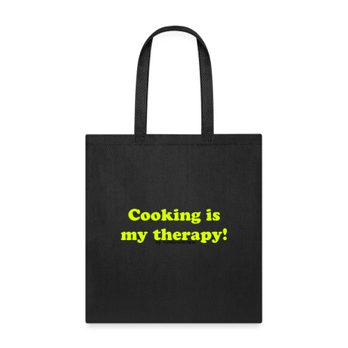 Bag cooking is my therapy. - Tote Bag