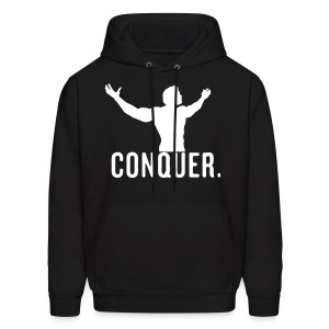 Conquer like Arnold Sweater - Men's Hoodie