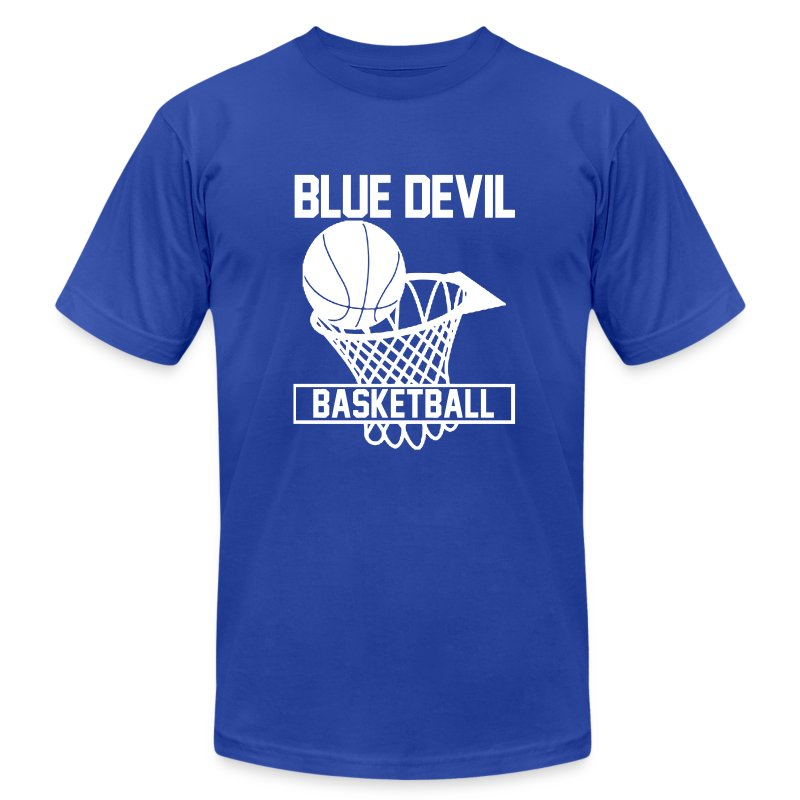 blue devils t shirt spreadshirt