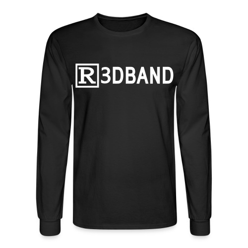 Long Sleeve T-Shirt Classic (white text) - Men's Long Sleeve T-Shirt