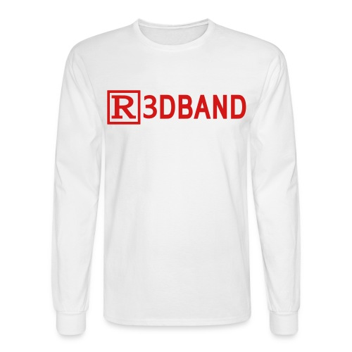 Long Sleeve T-Shirt Classic (red text) - Men's Long Sleeve T-Shirt