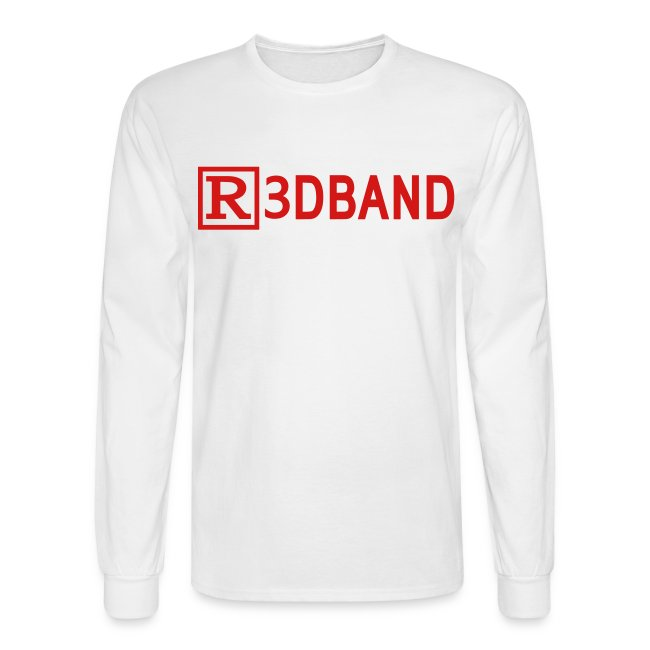 Long Sleeve T-Shirt Classic (red text)