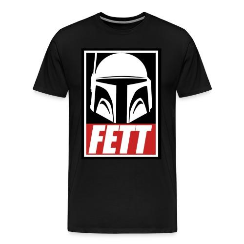Fett - Obey - Men's Premium T-Shirt