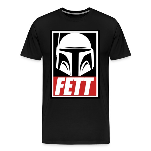 Fett - Obey - Men's Premium T-Shirt