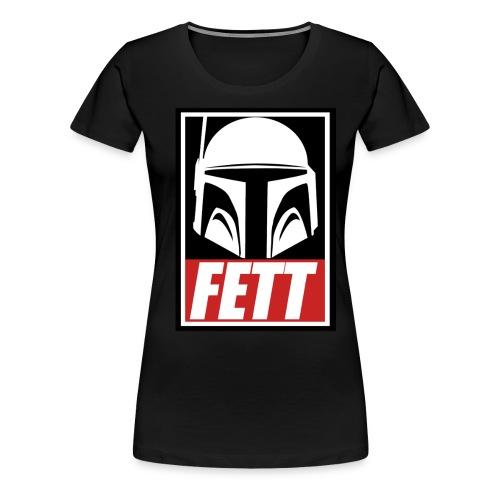 Fett - Obey - Women's Premium T-Shirt