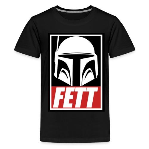 Fett - Obey - Kids' Premium T-Shirt