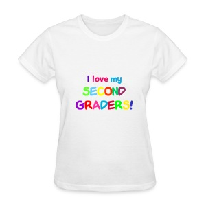 I Love My Second Graders Tee - Women's T-Shirt